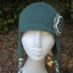 Aviator Hat Ear Flap Hat with croch..