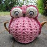 Crochet Owl Tea Cozy - made to orde..