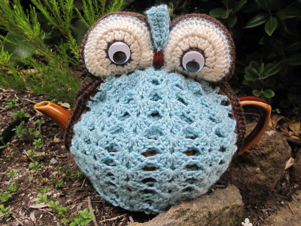 Owl Tea Cosy Duck Egg Blue Made To Order On Luulla